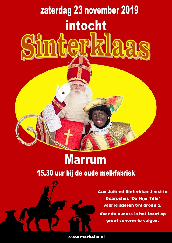 intocht Sint2019